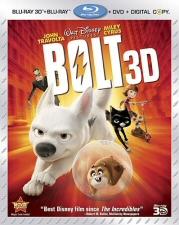 Bolt 3D Blu-Ray