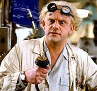 Christopher Lloyd as Doc Brown
