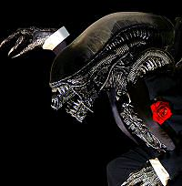 Giger Alien in a Tuxedo
