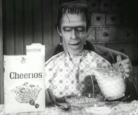 Herman Munster for Cheerios