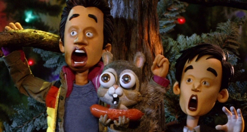 Very Harold and Kumar 3D Christmas claymation
