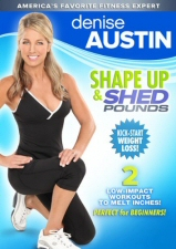 Denise Austin: Shape Up and Shed Pounds DVD