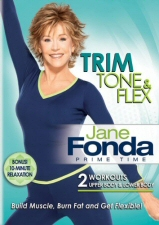 Jane Fonda Prime Time: Trim Tone and Flex DVD