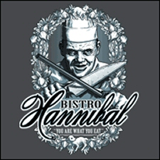 Bistro Hannibal T-Shirt from Tshirt Bordello