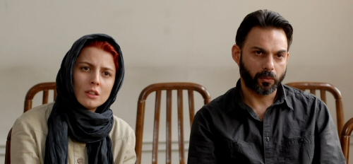 Leila Hatami and Peyman Moadi from A Separation