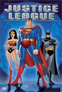 Justice League animated DVD