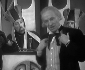Doctor Who: William Hartnell in court from Keys of Marinus