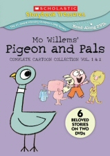 Mo Willems Pigeon and Pals: Complete Cartoon Collection Vol. 1 and 2 DVD