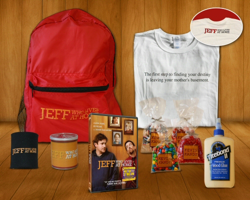 Jeff Who Lives at Home Prize Pack