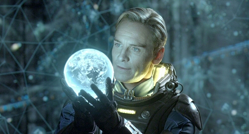 Michael Fassbender as David in Prometheus 3D