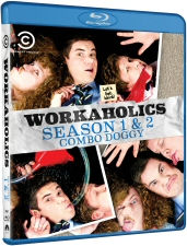 Workaholics Season 1 and 2 Combo Doggy Blu-Ray