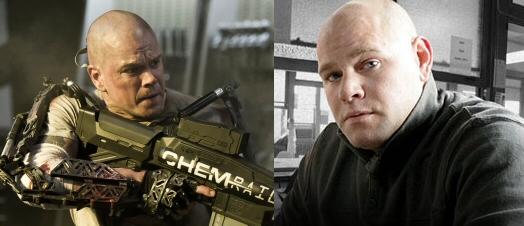 Matt Damon and Dominick Lombardozzi