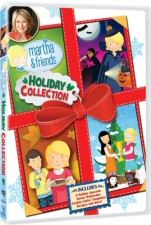 Martha and Friends Holiday Collection DVD