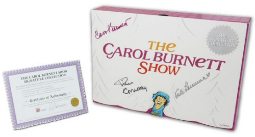 Carol Burnett Show: The Signature Collection DVD set from Time-Life