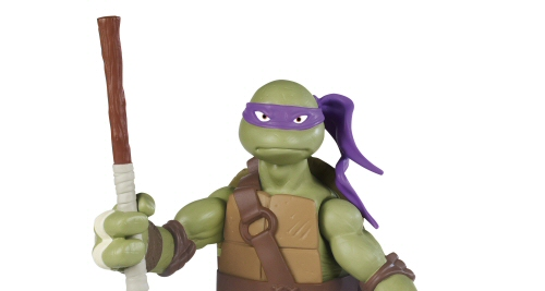 Donatello Battle Shell 10.5 inch Action Figure: Teenage Mutant Ninja Turtles