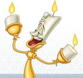 Lumiere from Beauty and the Beast