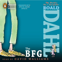 BFG by Roald Dahl, read by David Walliams audiobook