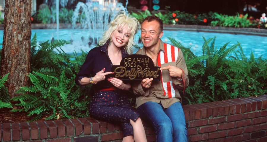 Dolly Parton and Graham Norton