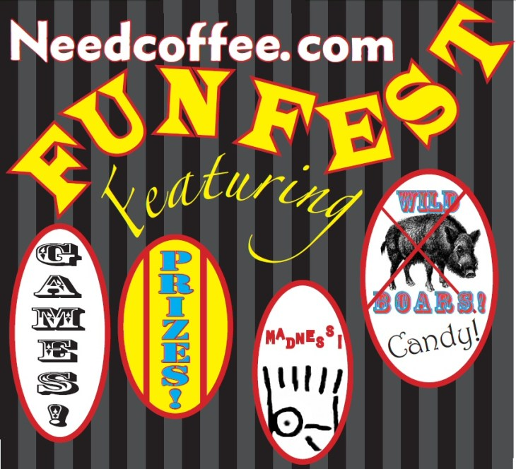 Need Coffee Dot Com Fun Fest