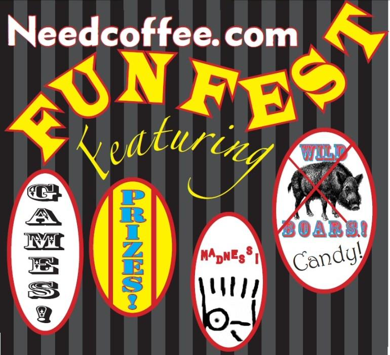 Need Coffee Dot Com Fun Fest