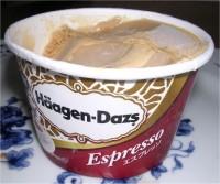 Haagen Dazs espresso ice cream