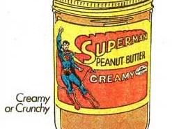Superman Peanut Butter