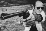 Hunter S. Thompson and Conan O'Brien: Move Your Whisky Before You Start Shooting