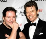 Ricky Gervais and David Bowie: National Joke