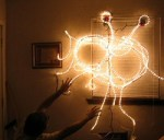 The Flying Spaghetti Monster in Lights: It's a Wonderful Pasta