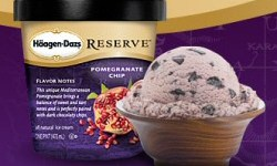 Haagen-Dazs Reserve Pomegranate Chip Ice Cream