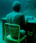 Underwater Sculpture: The Lost Correspondant and Others