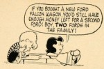 Charlie Brown & Linus for the 1964 Ford Falcon: That's Too Bad