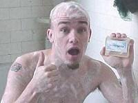 Shower Shock Soap from Thinkgeek