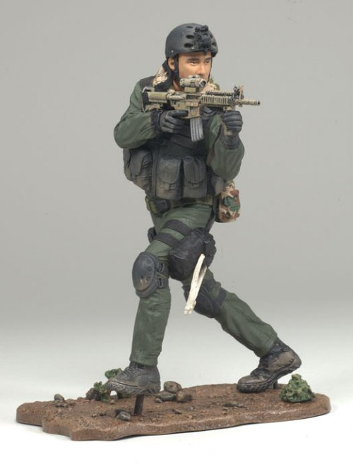 "McFarlane's Military 3"" Navy Seal Commando"