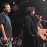 Paul Sabourin, Neil Gaiman and Jonathan Coulton