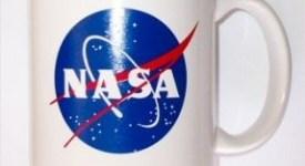NASA coffee mug