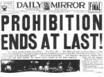 Happy Belated Deathday, Prohibition
