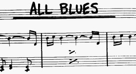 Miles Davis: All Blues sheet music