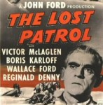 Boris Karloff in The Lost Patrol