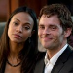 Zoe Saldana and James Marsden from Death at a Funeral (2010)