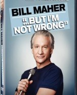 """Bill Maher """"...But I'm Not Wrong"""" DVD Cover Art"""