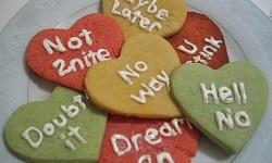 No Way Valentine Cookies