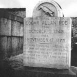Edgar Allan Poe gravestone