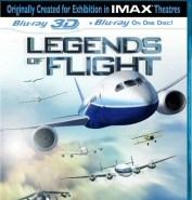 Legends of Flight 3D Blu-Ray