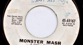 Monster Mash 45 single