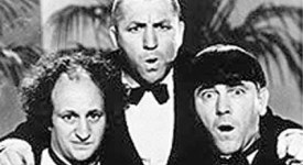 Three Stooges in Tuxedos