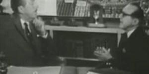 Walt Disney and Jack Benny