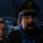 Jamie Bell as Tintin and Andy Serkis as Haddock in The Adventures of Tintin 3D