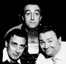 Spike Milligan, Peter Sellers and Harry Secombe from The Goon Show