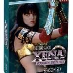 Xena Warrior Princess Season 6 DVD